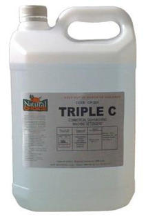 Triple C Machine Dish Detergent - 20Ltrs - Natural Choice