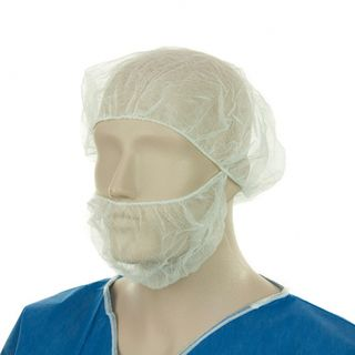 Beard Protector Single Loop White - Bastion