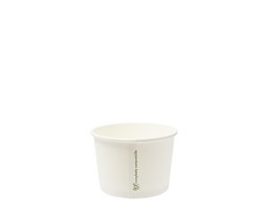 Soup//IceCream Container PLA 8oz/280ml - Vegware
