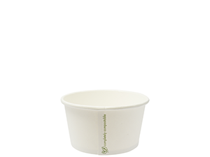 Soup/IceCream Container PLA 12oz/430ml - Vegware