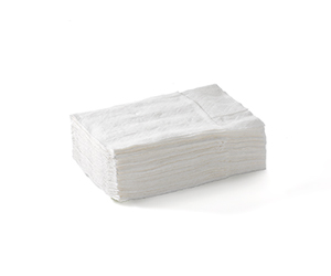 Napkin 1 Ply (For Compact Dispenser) White - BioDispenser
