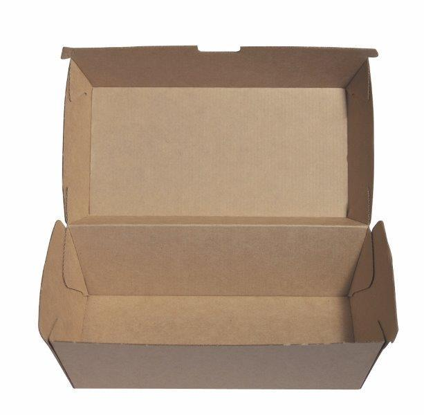 Kraft Snack Box Regular - Ecoware