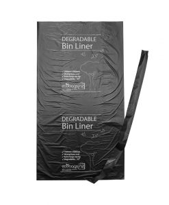 73L HD Refuse Degradable Liner with string - EcoPack
