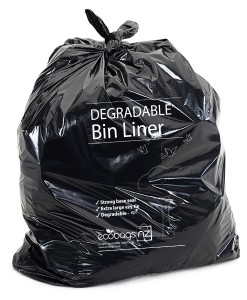 120L LD wheelie bin liner Degradable - EcoPack