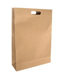 Punched Handle Paper Bags Large - EcoBags