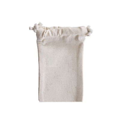 Calico Cotton Drawstring Bag - EcoBags