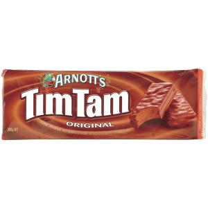 Arnotts Biscuits Chocolate Tim Tams 200Gm