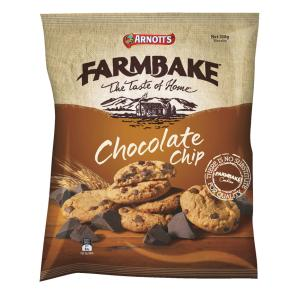 Arnotts 350G Farmbake Choc Chip Biscuits