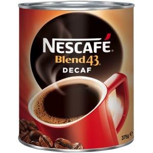 Nescafe 375G Tin Classic Decaf Instant Coffee