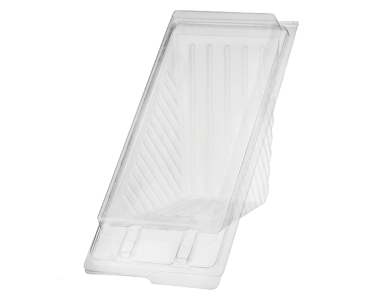 Eco-Smart' Bettaseal' Sandwich Wedges Extra Large, Clear - Castaway